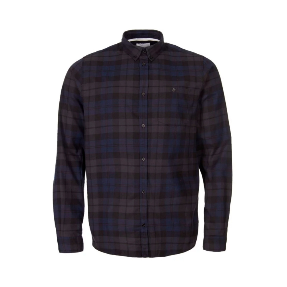 cca6e200b2 Norse Projects Anton Flannel Check Shirt (Dark Navy) - N40-0458 7004 ...
