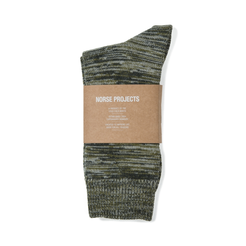 Norse Projects Bjarki Blend Socks (Lichen)