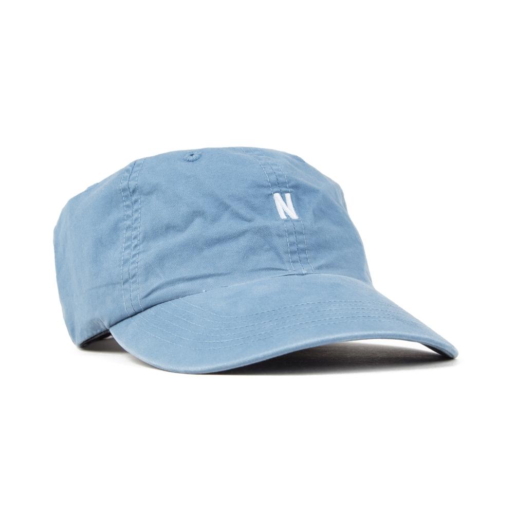 Norse Projects Light Twill Sports Cap (Marginal Blue) - Consortium. efc889938bf