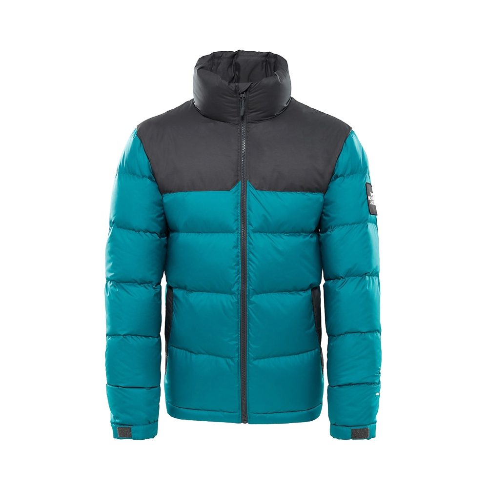 The North Face 1992 Nuptse Jacket (Everglade/Asphalt Grey)