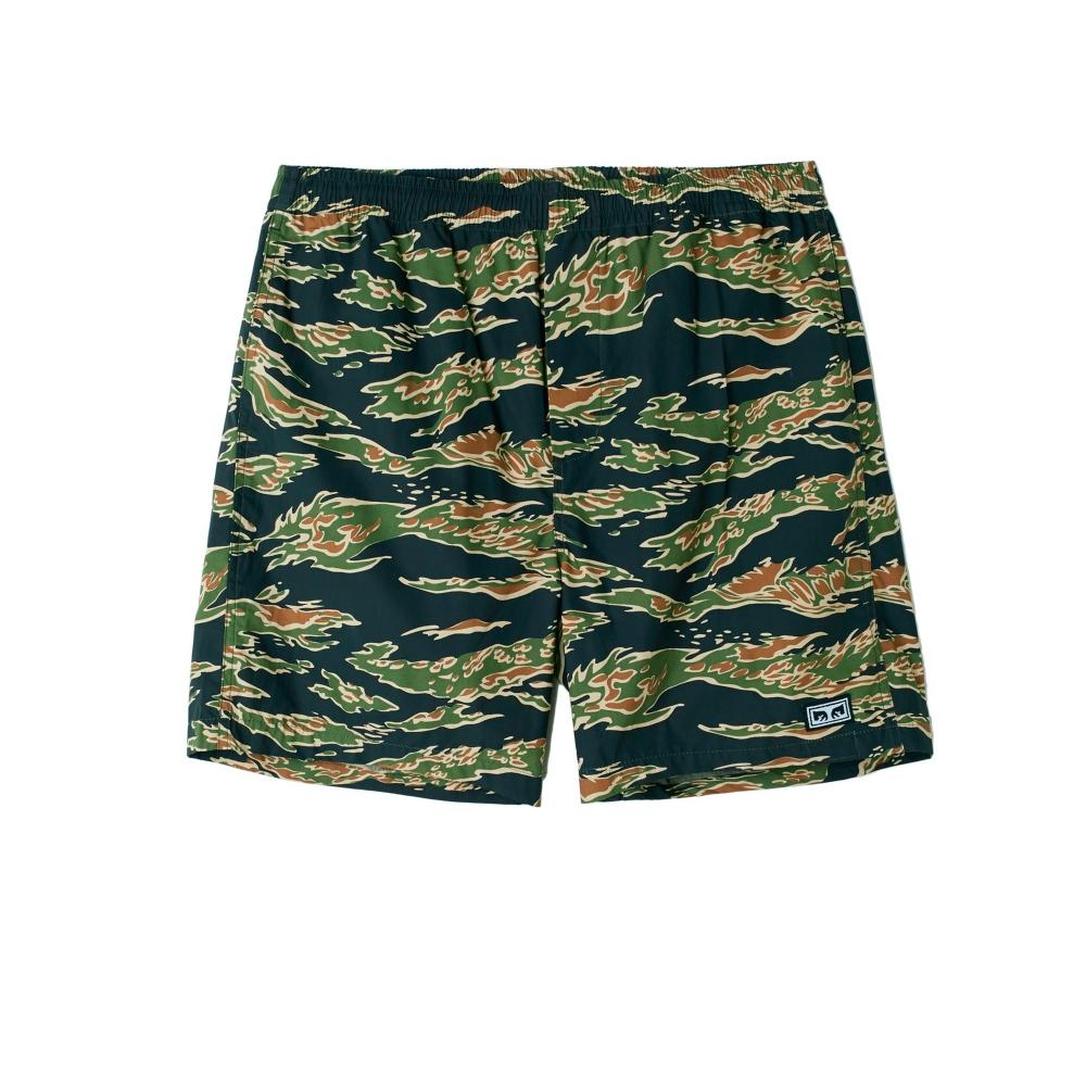 Obey Easy Jungle Short (Tiger Camo)