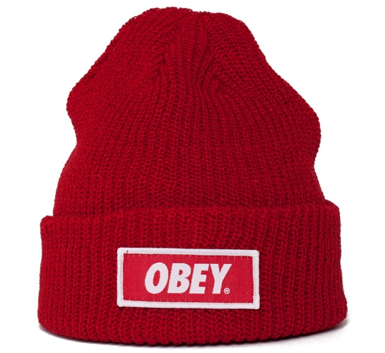 Obey Standard Issue Beanie (Red)