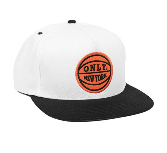 ONLY NY Team Logo Snapback Cap (White Black) - Consortium. e258f79b5