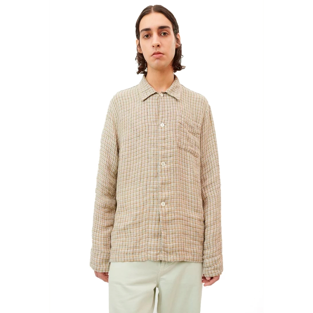 Our Legacy Box Shirt (Raw Potato Yellow Check)