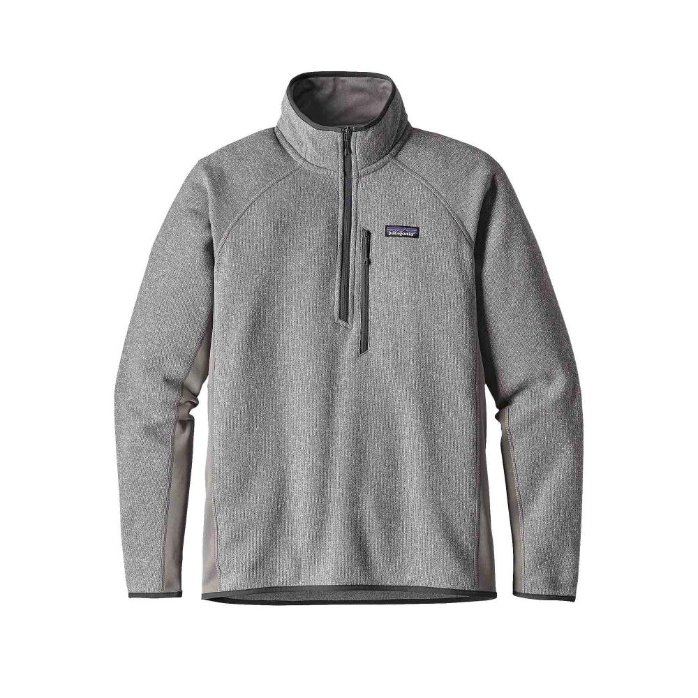 Patagonia Performance Better Sweater 1/4 Zip Fleece (Feather Grey)