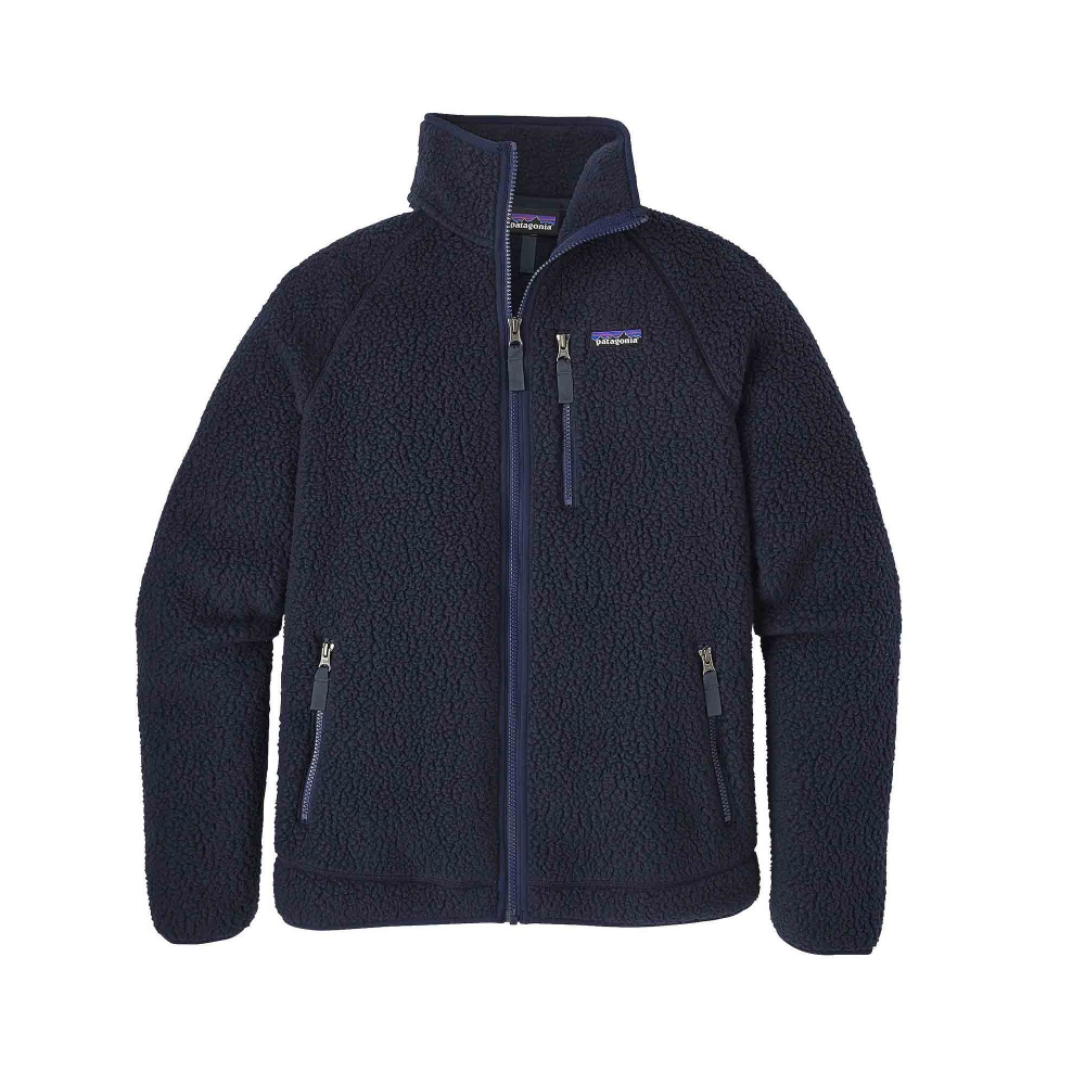 Patagonia Retro Pile Fleece Jacket (Navy Blue)