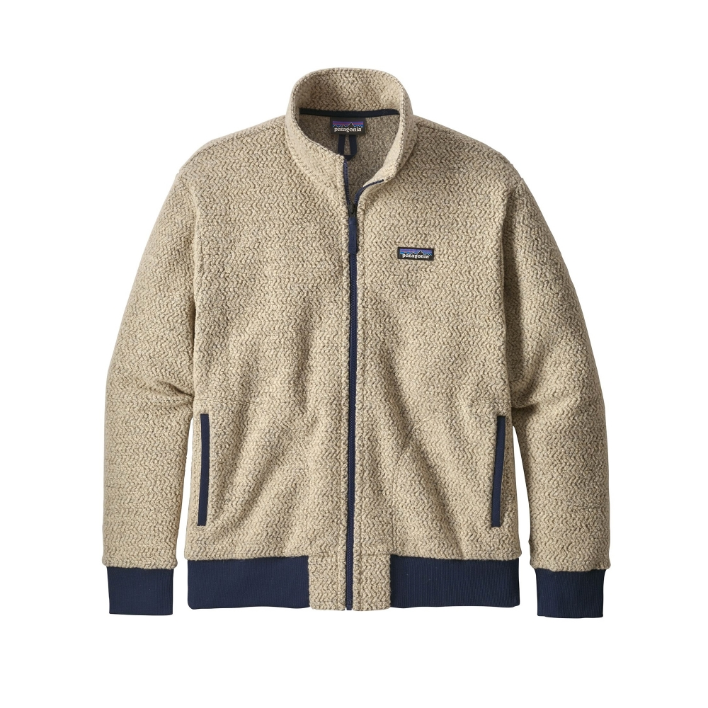 Patagonia Woolyester Fleece Jacket (Oatmeal Heather)