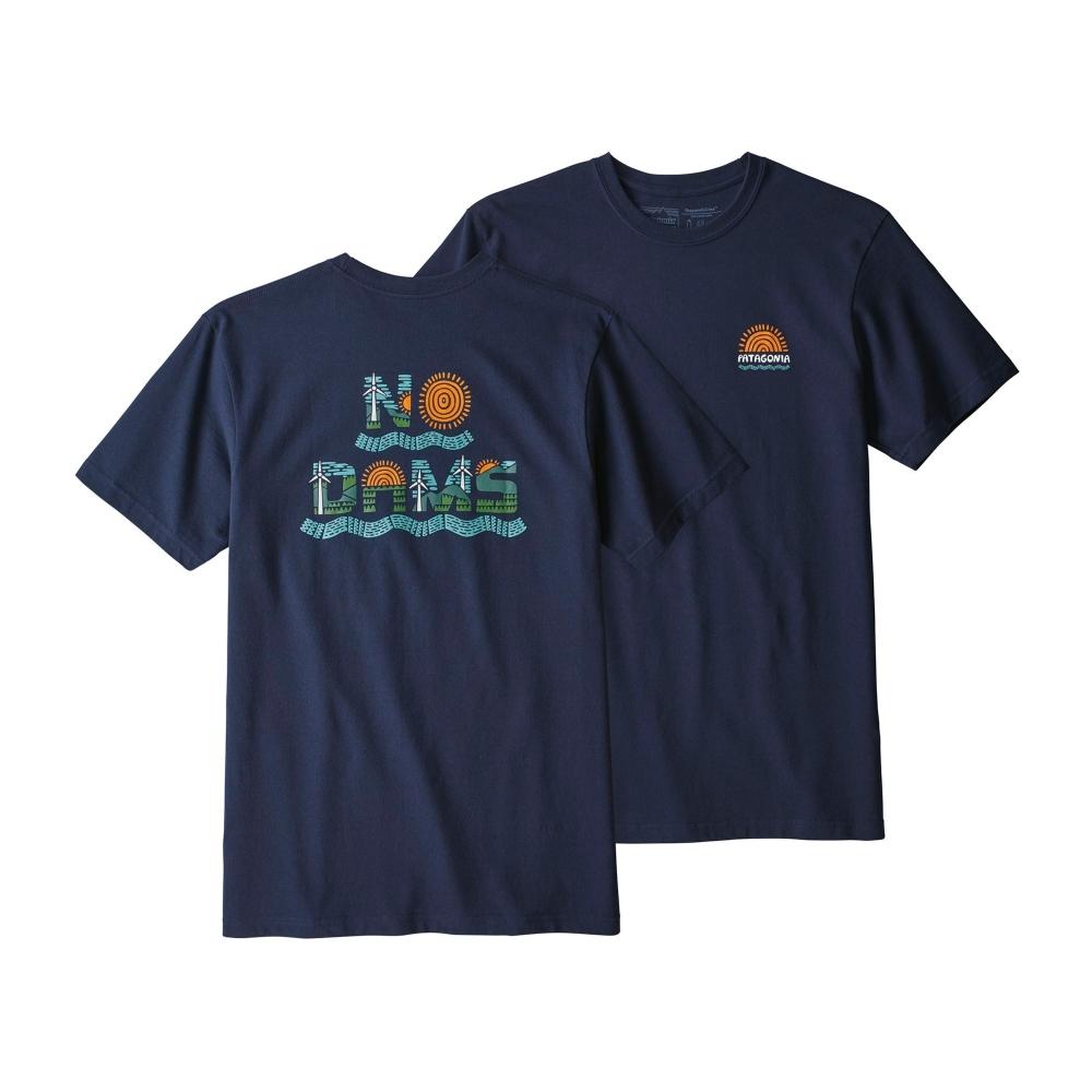Patagonia No Dams Responsibili-Tee T-Shirt (Classic Navy)