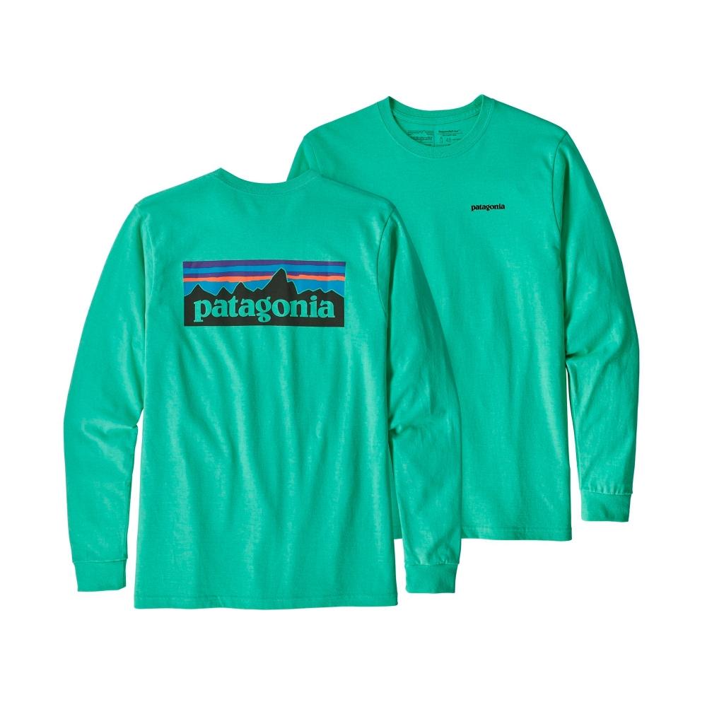 Patagonia P-6 Logo Responsibili-Tee Long Sleeve T-Shirt (Vjosa Green)