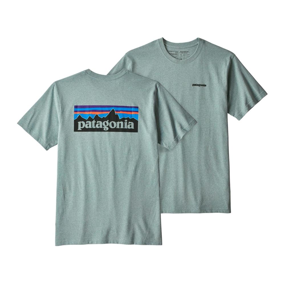 Patagonia P-6 Logo Responsibili-Tee T-Shirt (Cadet Blue)