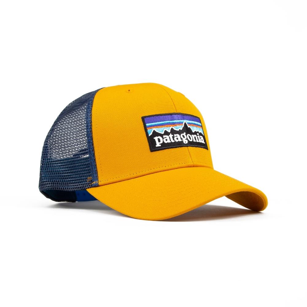 Patagonia P-6 Logo Trucker Cap (Ysidro Yellow)