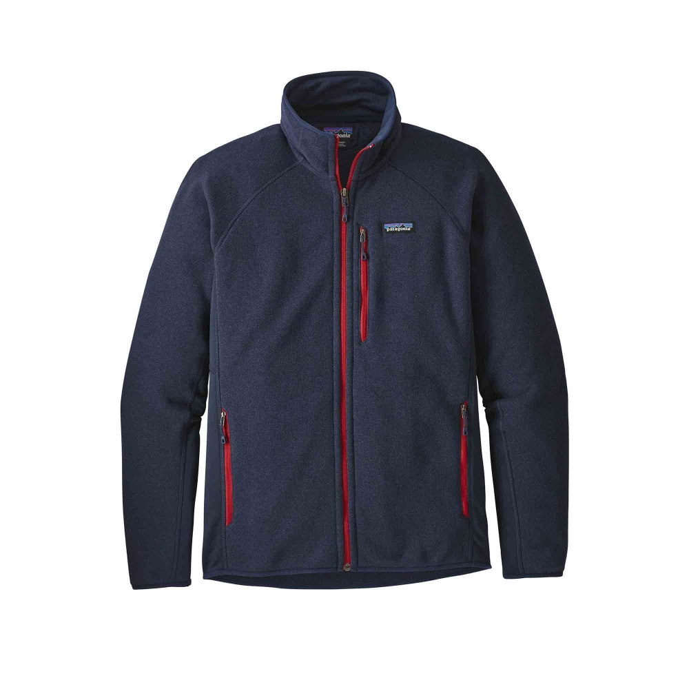 Patagonia Performance Better Sweater Fleece Jacket (Navy Blue)