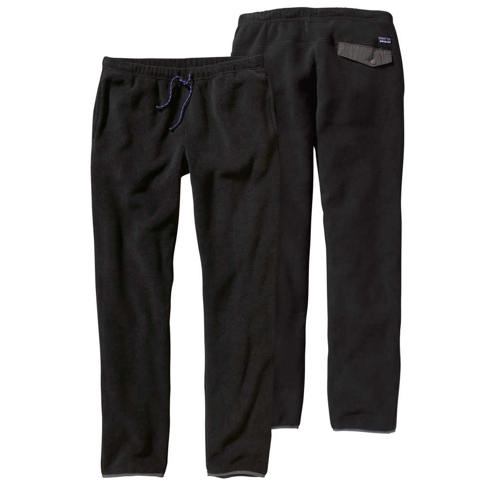 Patagonia Synchilla Snap-T Pant (Black w/Forge Grey)