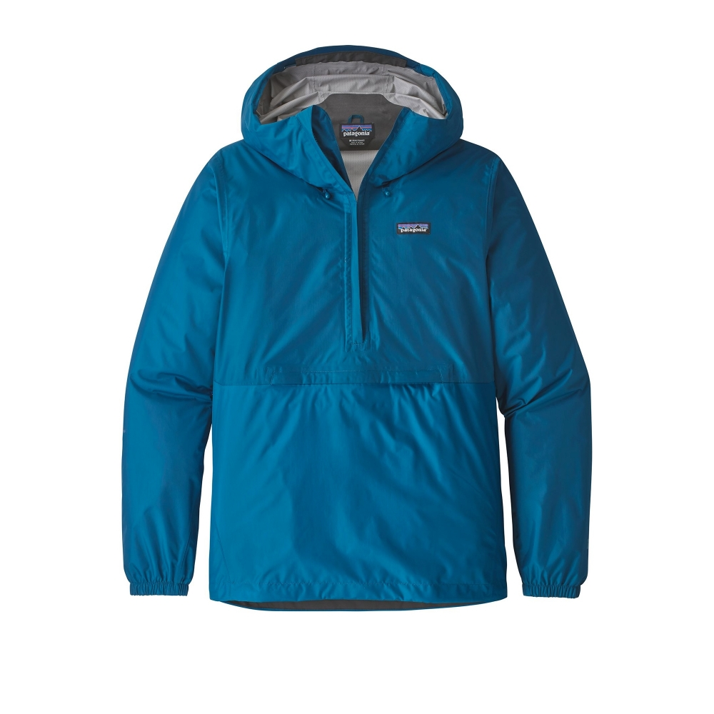 Patagonia Torrentshell Pullover Jacket (Big Sur Blue)