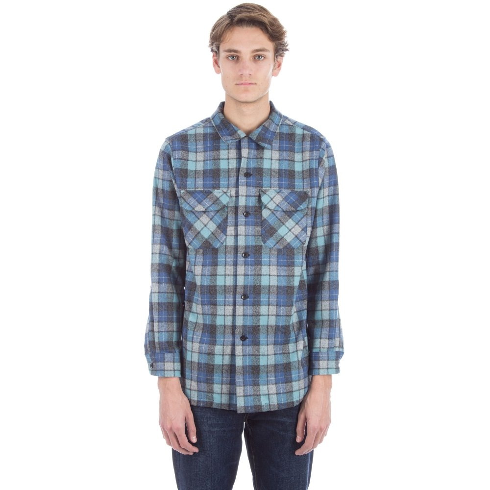 Pendleton Board Shirt 'Original Surf Plaid' (Blue)
