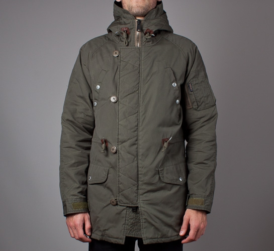 05582254f4129d Penfield Paxton Jacket (Olive) - Consortium.