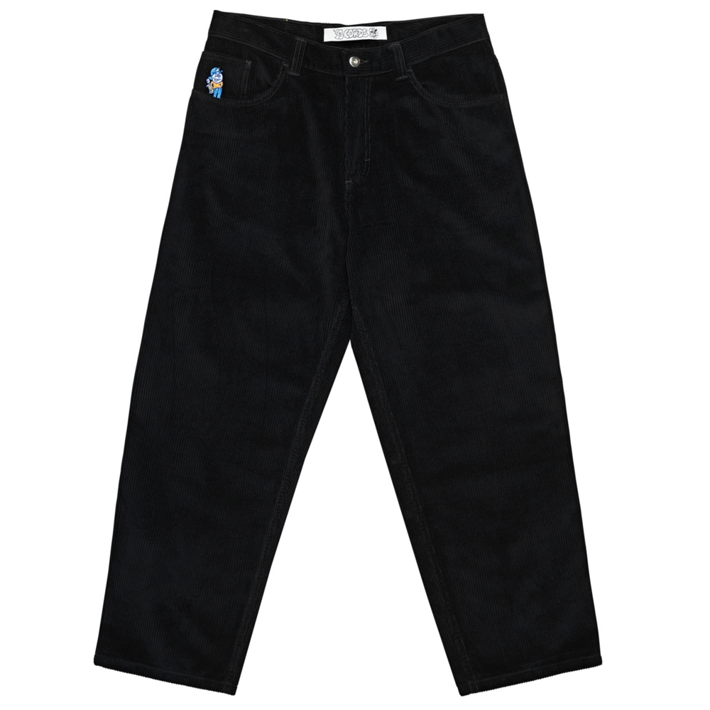 Polar Skate Co. '93 Cords Trousers (Black)