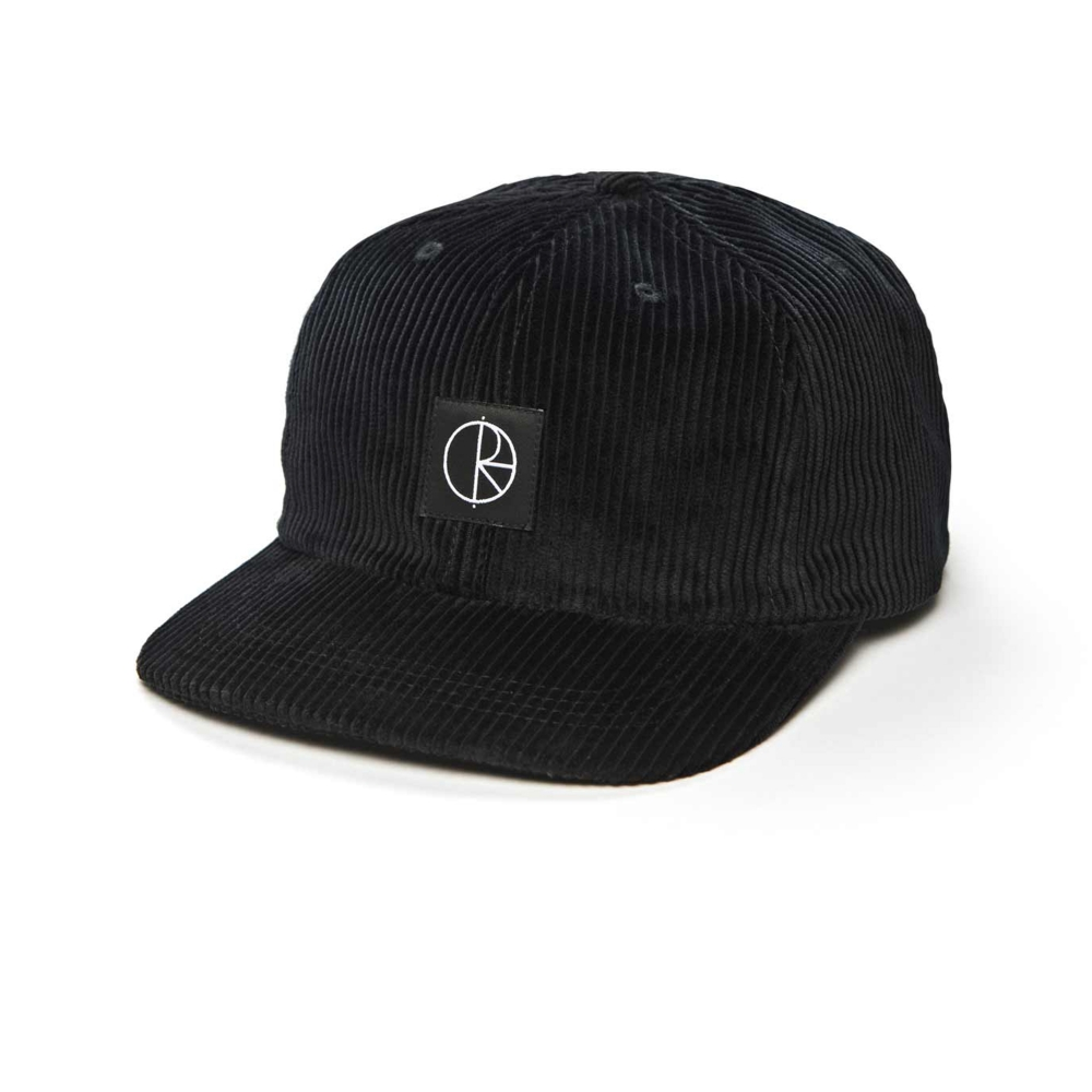 Polar Skate Co. Corduroy Cap (Black)