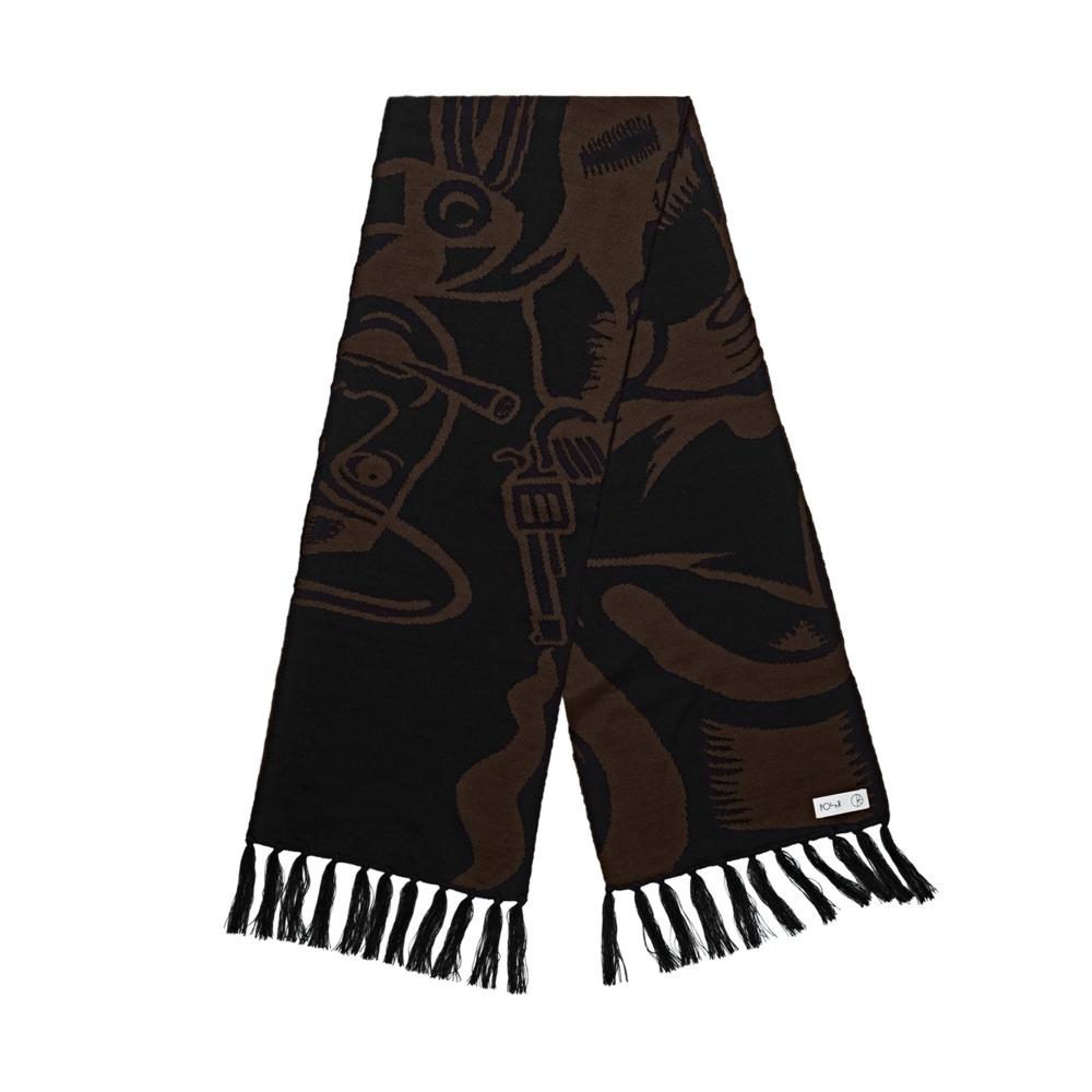 Polar Skate Co. Cowboy Scarf (Brown/Black)