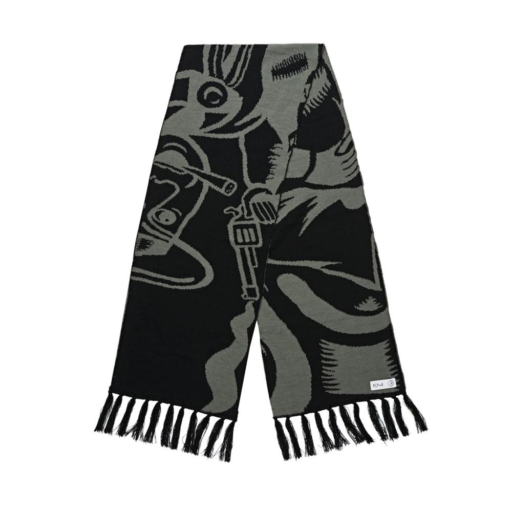 Polar Skate Co. Cowboy Scarf (Grey/Black)