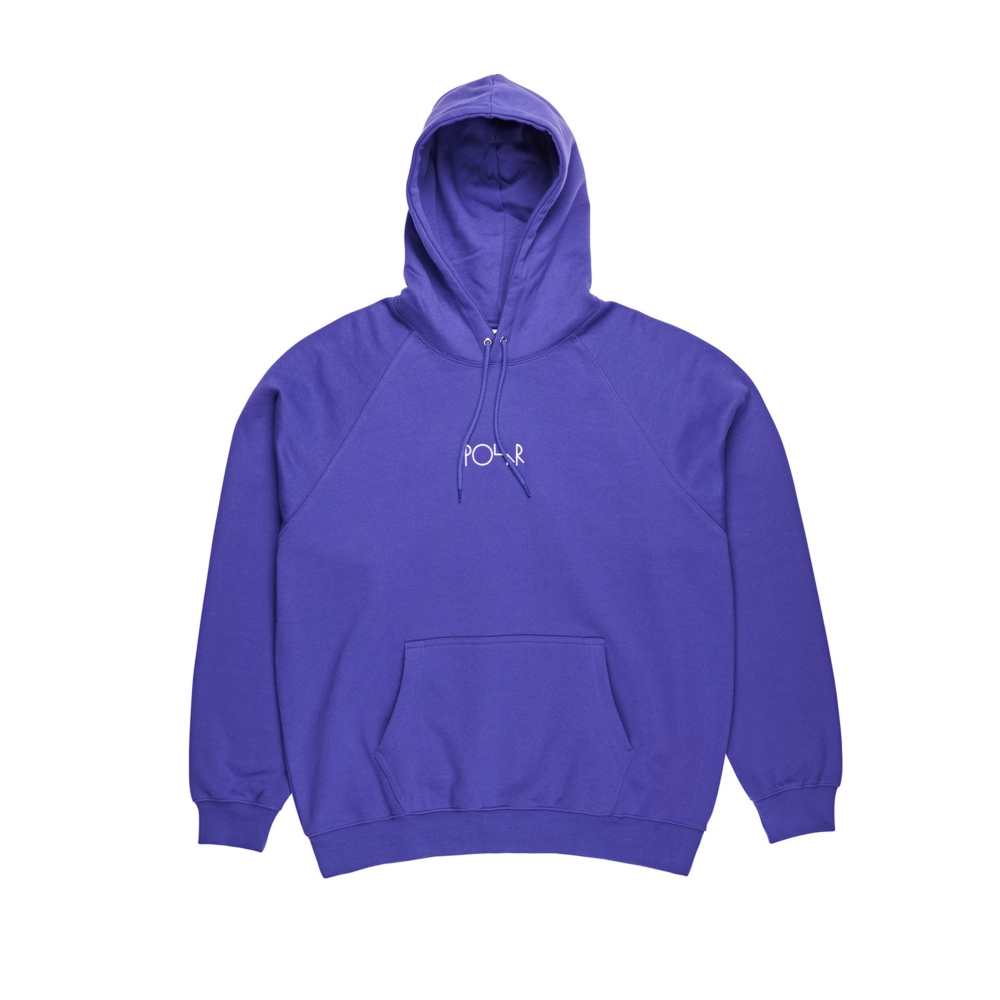 Polar Skate Co. Default Pullover Hooded Sweatshirt (Deep Purple)