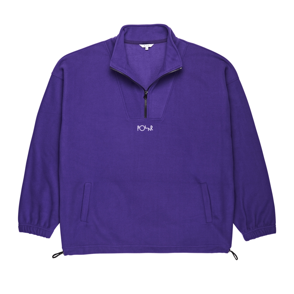 Polar Skate Co. Lightweight Fleece Pullover (Deep Purple)