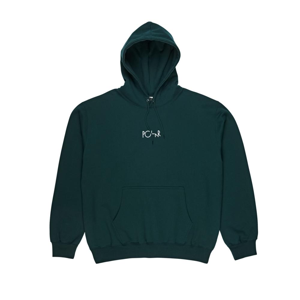 Polar Skate Co. Stroke Logo Pullover Hooded Sweatshirt (Dark Teal)