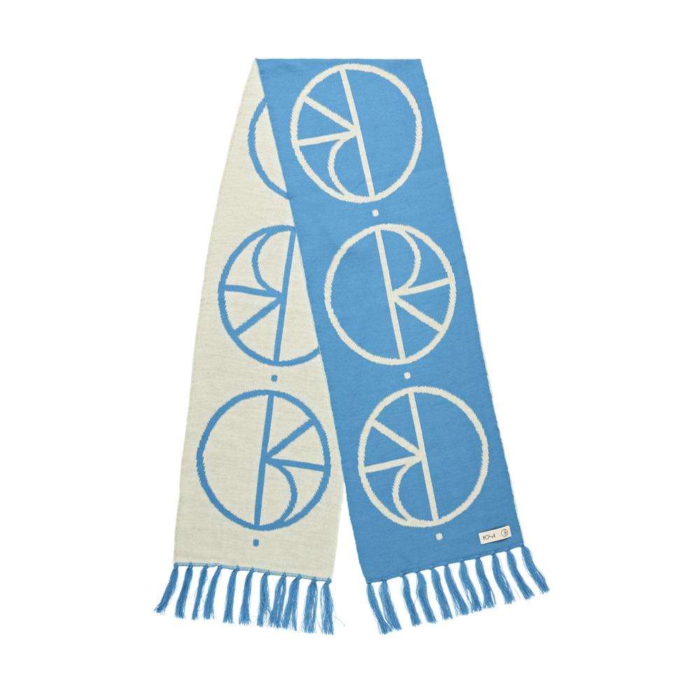 Polar Skate Co. Stroke Logo Scarf (Pool Blue)