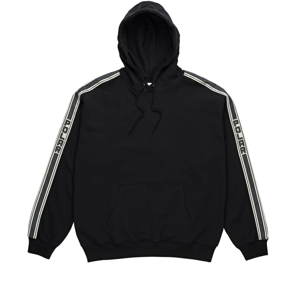 Polar Skate Co. Tape Pullover Hooded Sweatshirt (Black)