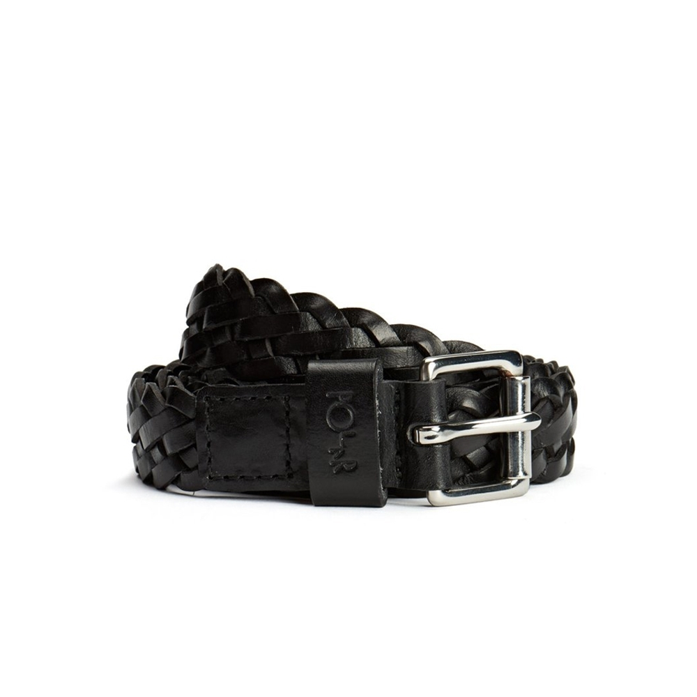Polar Slim Woven Belt (Black)