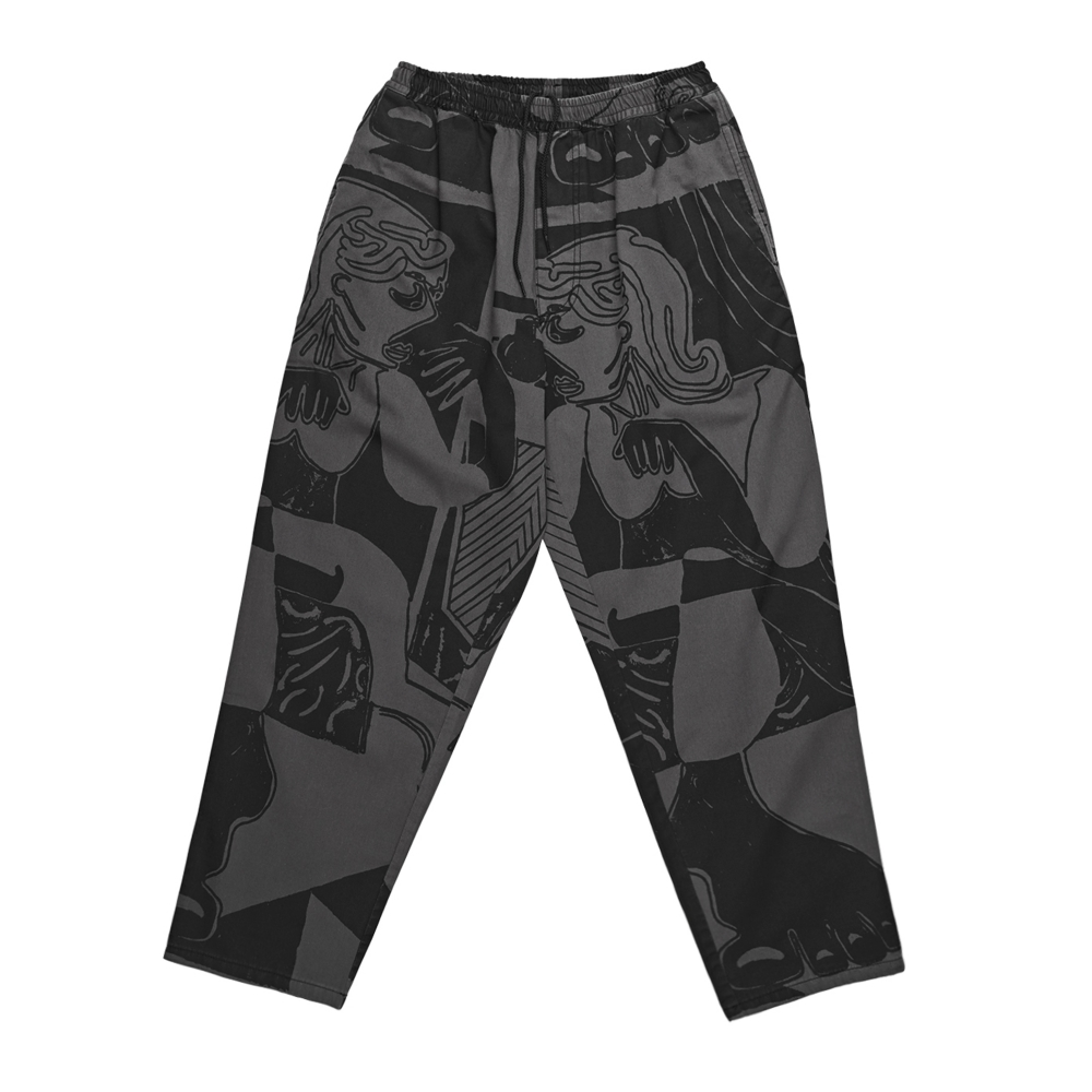 Polar Skate Co. TK Surf Pants (Black/Graphite)