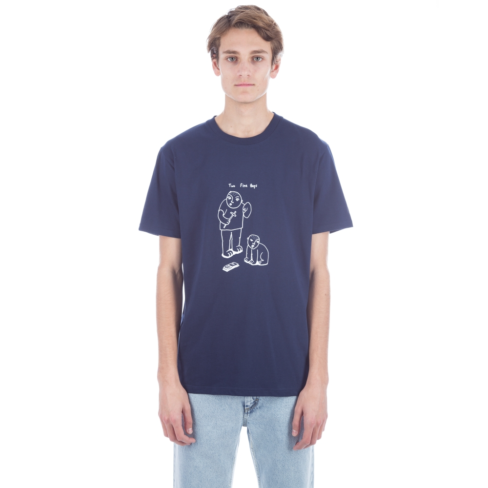 Polar Two Fine Boys T-Shirt (Navy)