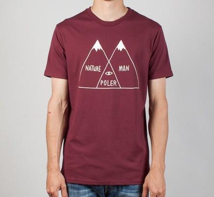 Poler Stuff Venn T-Shirt (Vino)