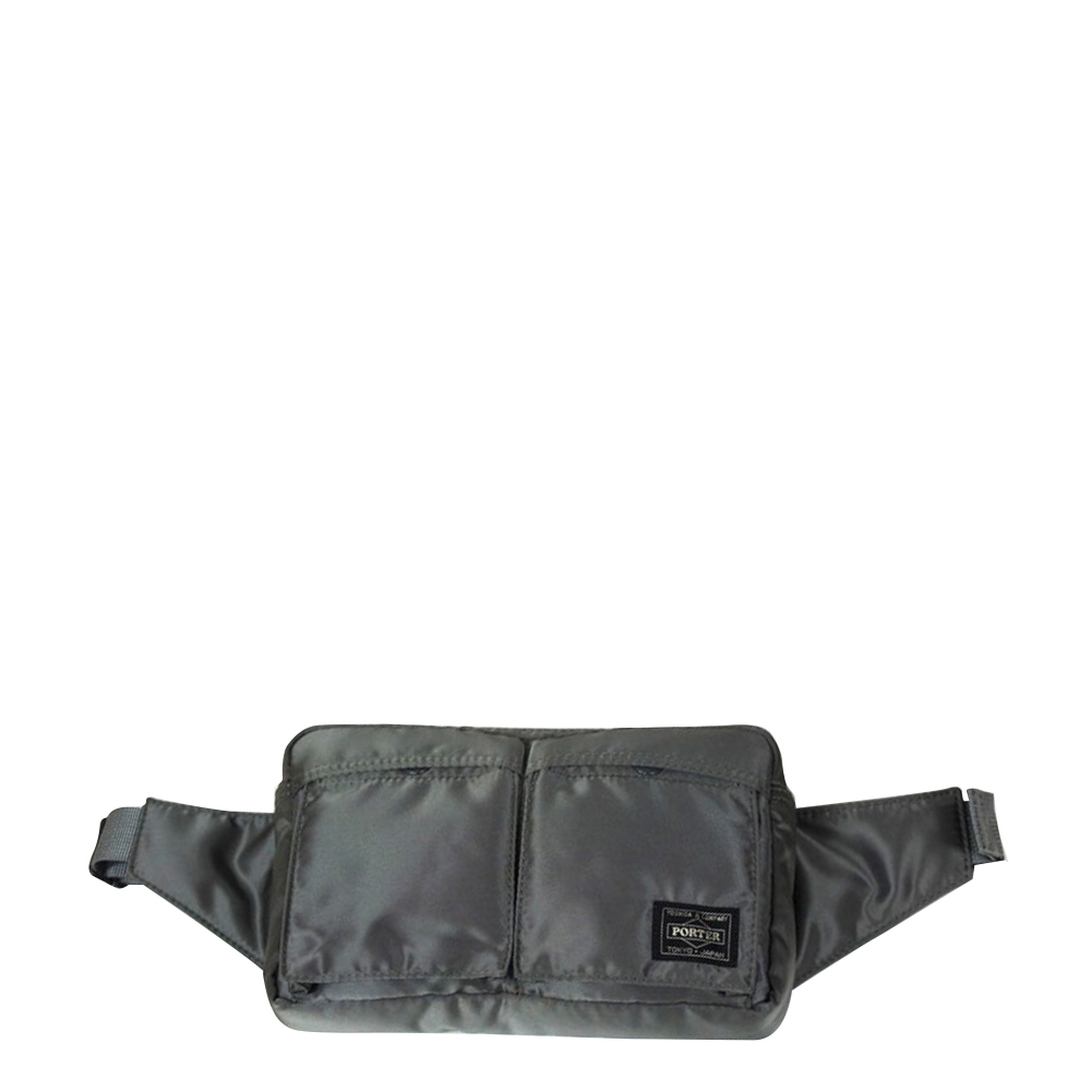 Porter Tanker Waist Bag (Silver Grey)
