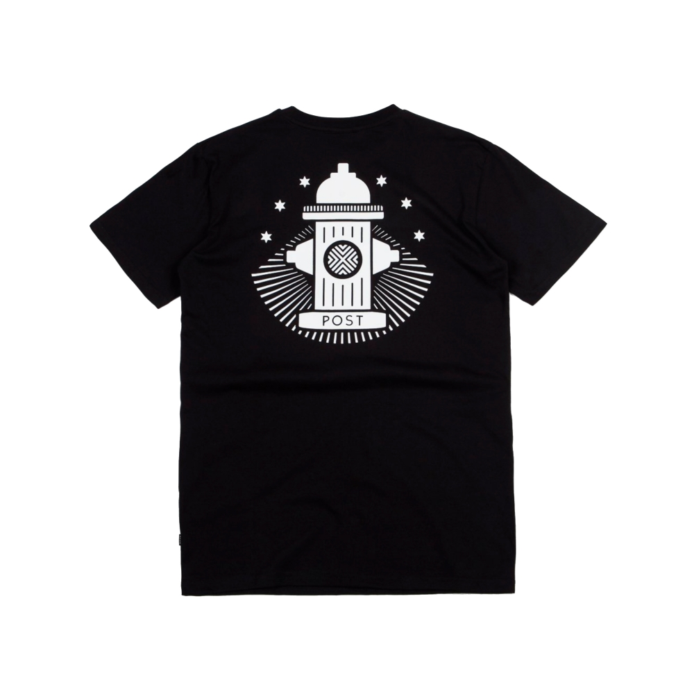 Post Details No Bills Hydrant T-Shirt (Black)