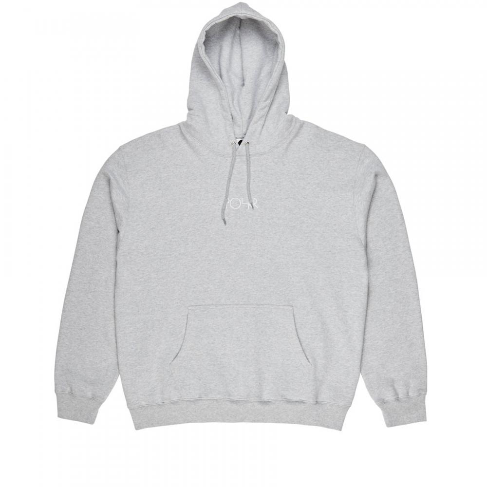 Polar Skate Co. American Fleece Pullover Hooded Sweatshirt (Sport Grey)