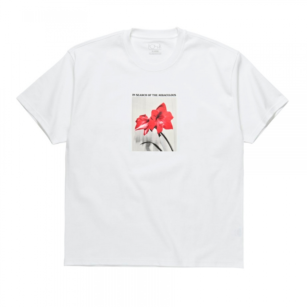 Polar Skate Co. In Search of the Miraculous T-Shirt (White)