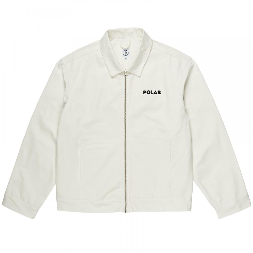 Polar Skate Co. Notes Denim Jacket (Ivory)