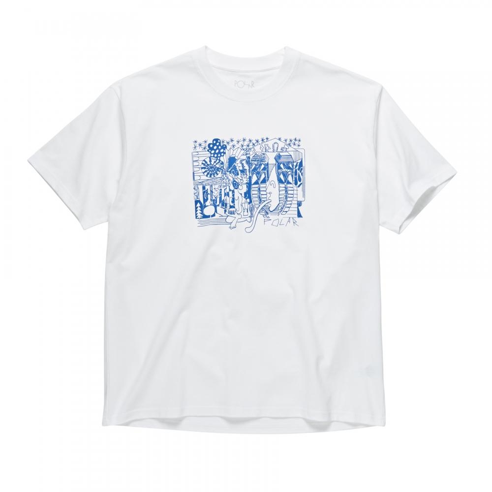 Polar Skate Co. TK T-Shirt (White)