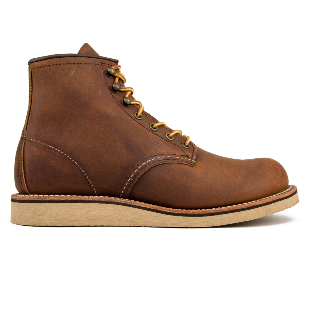 """Red Wing 2950 Rover Round Toe 6"""" Boots (Copper Rough & Tough Leather)"""