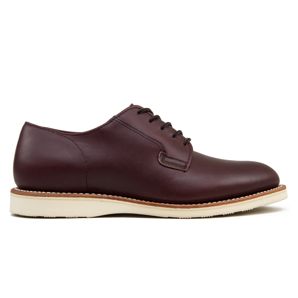 Red Wing 3117 Postman Oxford Shoes (Oxblood Mesa Leather)