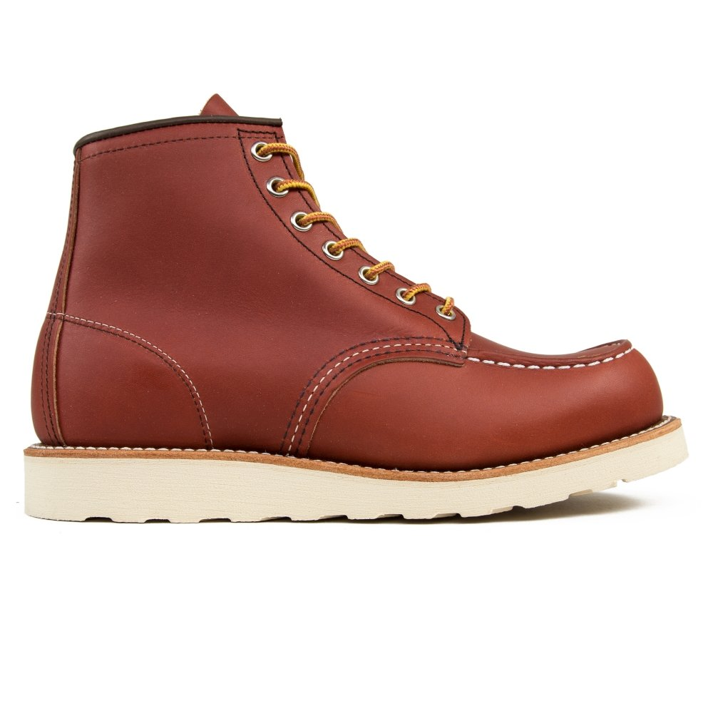"Red Wing 8131 Classic Moc Toe 6"" Boots (Oro Russet Portage Leather)"