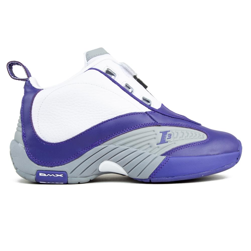Reebok Answer IV PE (Team Purple / Flat Grey / White)