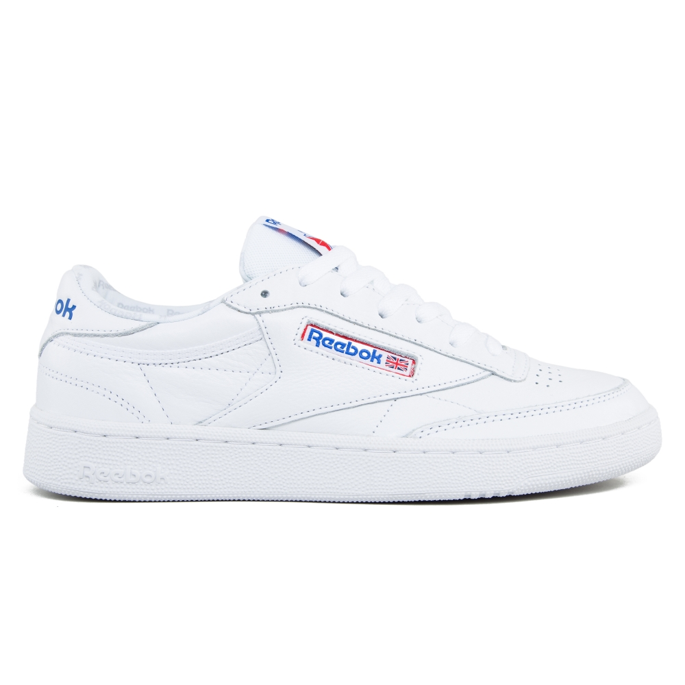 Reebok Club C 85 SO (White/Light Solid Grey/Vital Blue/Primal Red)