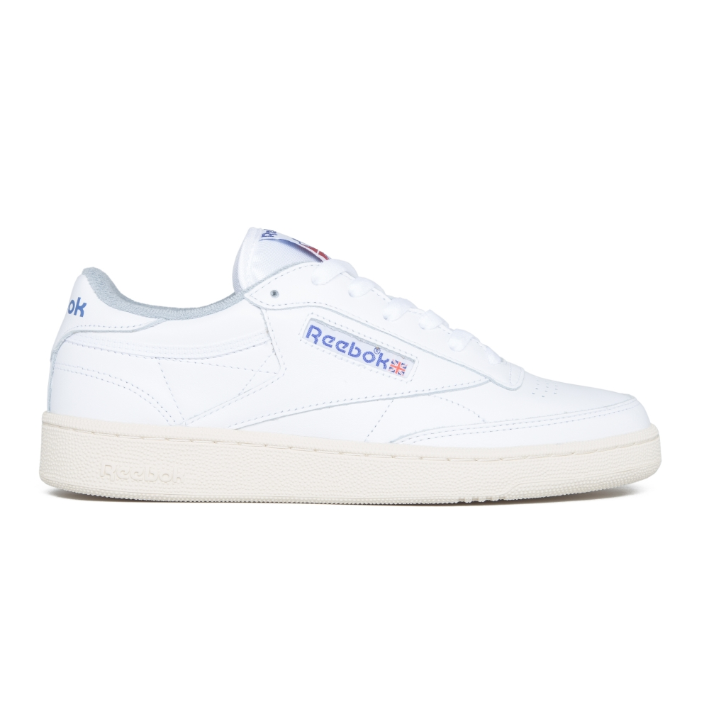 Reebok Club C 85 Vintage (White/Reebok Royal/Tin Grey/Sandtrap)