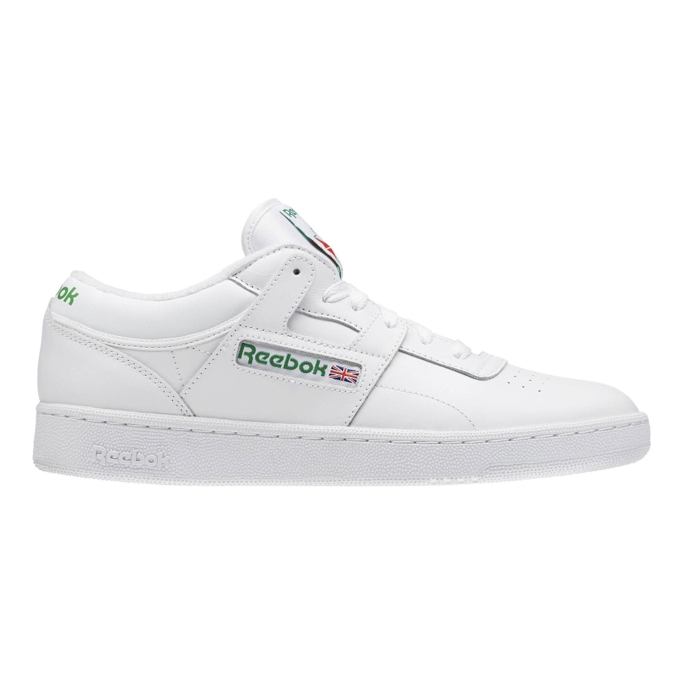 Reebok Club Workout (White/Glen Green/Red)