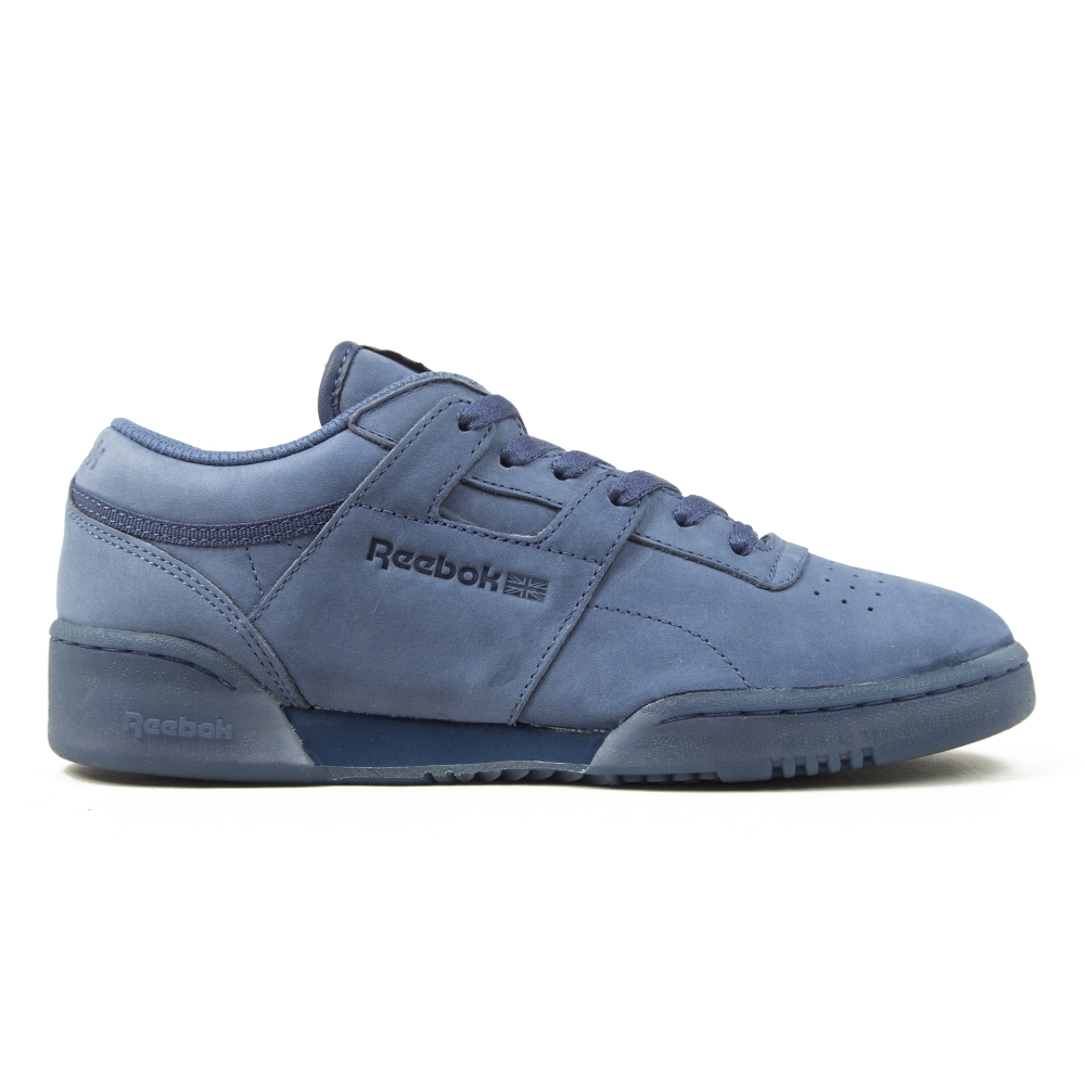 Reebok Workout Lo Clean LG Midnight Blue/Wicked Blue (V28v8219)