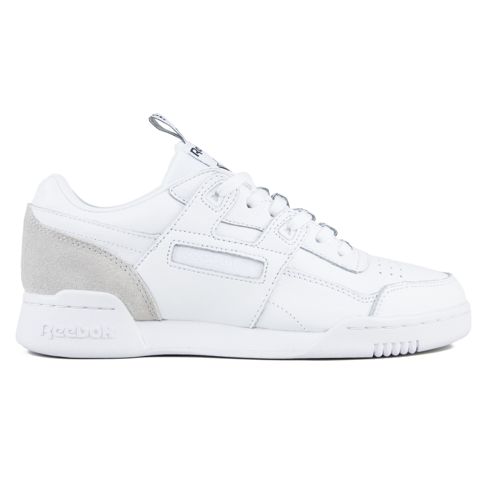 Reebok Workout Plus IT (White/Skull Grey/Black)