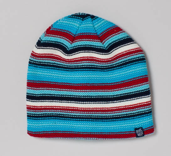 db58c3f07a4 Rockwell Misspelled logo Beanie (Blue Red White) - Consortium.