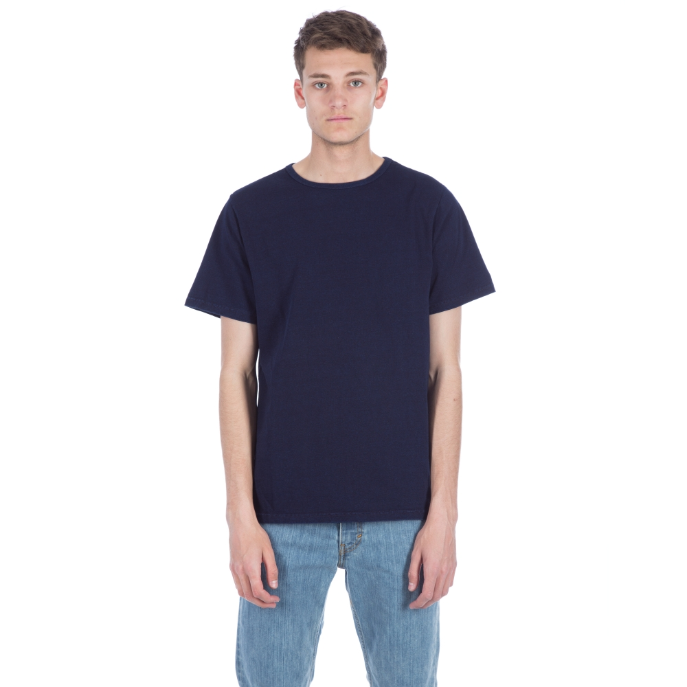 Saturday's Surf NYC Brandon Heavy Jersey T-Shirt (Indigo)